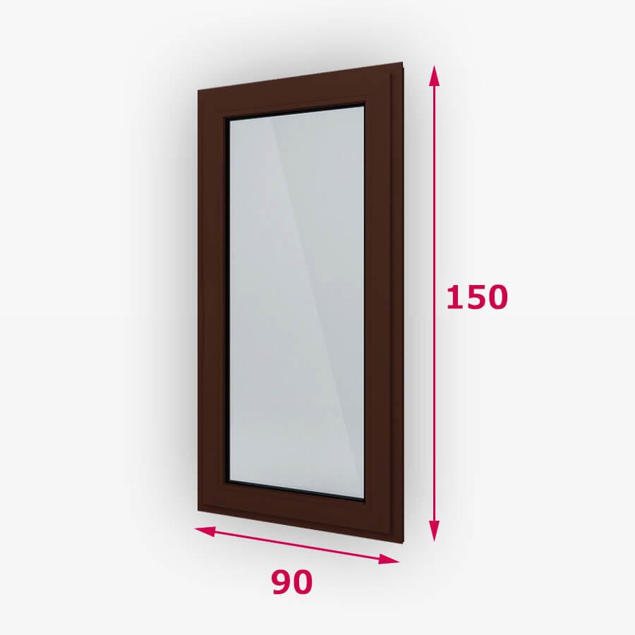Fix fa ablak 90x150cm
