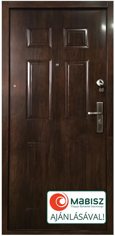 JOLA-Sec biztonsági bejárati ajtó sötét dió