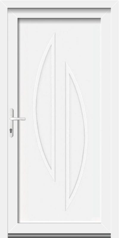 King gealan műanyag bejárati ajtó
