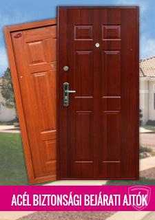 Acél bejárati ajtók